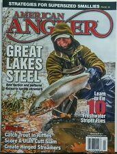American Angler March April 2017 Great Lakes Steel New Tactics FREE SHIPPING sb