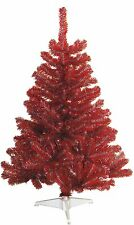 Ohio State Buckeyes Scarlet & Gray 4FT Christmas Tree Team Colored Artificial