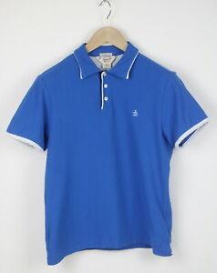 PENGUIN by MUNSINGWEAR HERITAGE SLIM FIT Men SMALL Polo T-Shirt 24144-JS