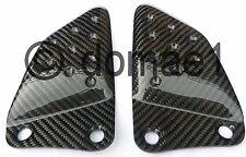 Buell XB9 XB12 S R carbon fiber heel guards driver pair plates front