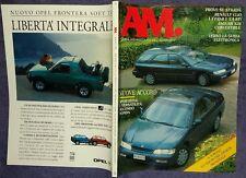 AM 1994 n.57 Renault Clio,Jaguar XJS,Honda Accord,Impreza WRx-STi,Toyota MR2 #f
