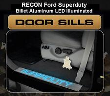 Recon Billet Door Sill Illuminated 1999-2015 Ford Super Duty F250/350/450