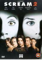Scream 2 - 1998 John Patrick, David Warner, Courteney Cox, Corey Parker UK DVD