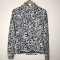 Lucy Tech Womens 1/2 Zip Stretch Pullover Jacket Activewear Top Size Medium