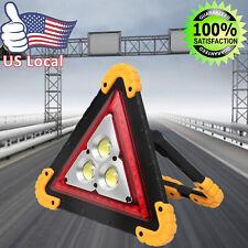Triangle Flashing Led Work Light Warning Car Road Emergency Lamp Roadside Safety
