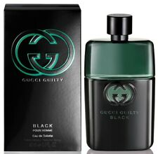 Gucci Guilty Black Pour Homme For Men Eau de Toilette 3.0 oz ~ 90 ml EDT Spray