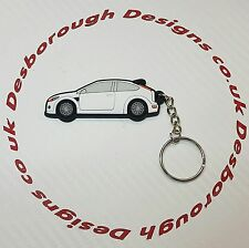 Ford Focus RS  key ring White