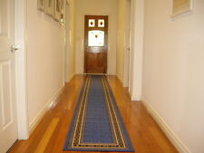 Hallway Runner Hall Runner Rug Modern Blue 6 Metres Long FREE DELIVERY 34645