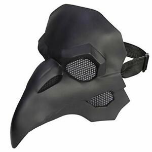 Maske Gothic CosplayPest Doktor Retro Steampunk Requisiten Kostüm DMAR B-WARE