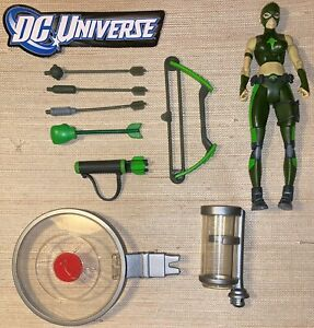"""DC Universe Classics Young Justice Deluxe Wave Artemis 6"""" & Accessories Lot"""