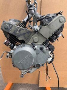 Ducati Monster 750 Complete Motor Engine Transmission V Twin M750 96-02