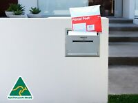 Brick in Letterbox parcel letterbox stainless steel secure drop box brick insert