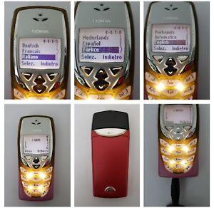 CELLULARE NOKIA 8310 GSM SIM FREE DEBLOQUE UNLOCKED