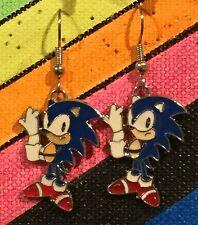 SONIC Earrings Surgical Hook New Gaming Hedgehog