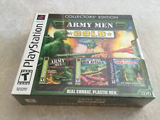 Army Men: Gold -- Collectors' Edition (Sony PlayStation 1, 2002) PS1 NEW