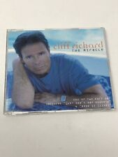 CLIFF RICHARD THE MIRACLE CD SINGLE ONE TRACK PROMO 1999 UK