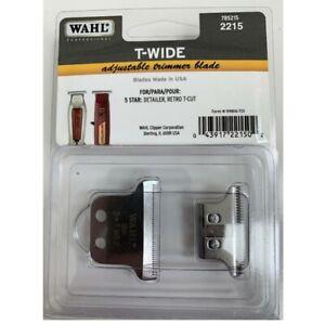 Wahl Adjustable T-WIDE Trimmer Blade #2215