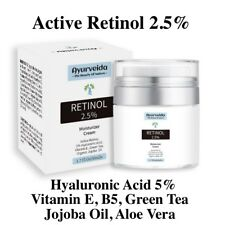 Retinol 2.5% Face Cream Serum Anti Ageing Wrinkles Hyaluronic Acid Vitamin E, B5