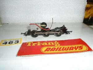 TRIANG  R-52 BR BLACK JINTY 0=6=0 TANK   LOCO ROLLING CHASSIS   ONLY/ Y/463