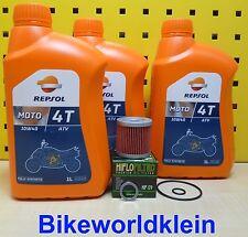 Suzuki LT-Z 400 03-14 3L Huile + FILTRE À REPSOL ATV 10W40 vollsy L'HUILE DE