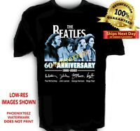 Beatles 60th Anniversary t shirt Sizes S to 6X Tall Sizes