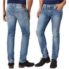 PEPE Jeans HATCH wash S55 Hellblau Slim Fit Röhrenjeans NEU