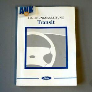 Betriebsanleitung Bedienungsanleitung 2001, Ford Transit Bus Kasten Pritsche