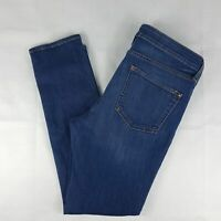 Anthropologie Pilcro and the Letterpress Mid Rise Skinny Ankle Jeans No 31 Dark