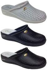 Pantofole da donna bianchi Piatto (Meno di 1,3 cm)