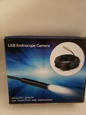 9mm 10M USB Endoscope Camera LED  Borescope Inspection Cable Excellent Quality