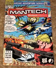 ARCHIE ADVENTURE SERIES #3 MANTECH ROBOT WARRIORS FREE BAGGED & BOARDED