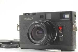 """MINT "" Minolta CLE Rangefinder Camera Body w/ M-Rokkor 28mm F/2.8 Lens JAPAN"