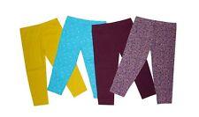 NEW! MYKA GIRL'S LEGGINGS SET - PACK OF 4 (SIZE XL/ 5-6Y)