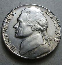 1958-D  BU   Jefferson Nickel  nice coin