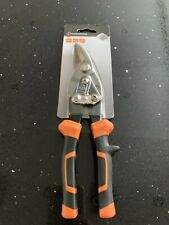 "MAGNUSSON 10"" Aviation Tin Snips Right Off Set 250mm"