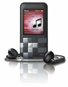 Creative ZEN Mozaic Blak 2GB WMA MP3 Player Wit FM Radio & Built-in Speaker Good