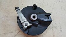 1978 SUZUKI RM50 FRONT BRAKE ASSEMBLY WITH SHOES   #1