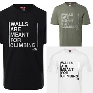 The North Face T Limited Edition Walls are Are For Climbing T shirt XSSMLXLXXL
