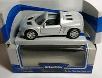 URBAN RIDER DIECAST OPEL SPEEDSTER OPEN TOP SPORTS CAR - SILVER - 83510 - BOXED