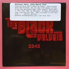 The Black Velvets - 3345 - Card Sleeve - Promo CD