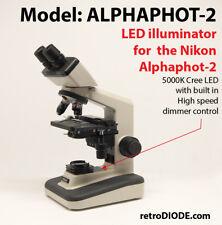 LED retrofit for Nikon Alphaphot 2 Microscopes