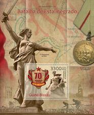 More details for guinea-bissau military stamps 2013 mnh wwii ww2 battle of stalingrad 1v s/s