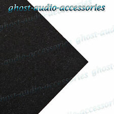 1 SQ meter Schwarz Akustikgewebe / Teppich für hutablage / stiefel/van-futter