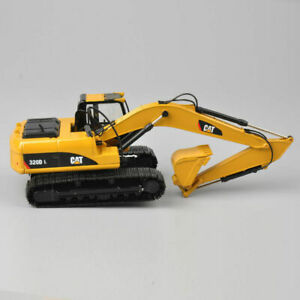 CAR CAT 320D L 1:50 Scale Diecast Hydraulic Excavator Yellow Color Model Toy