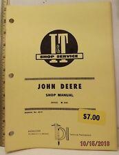 JOHN DEERE 2040 TRACTOR I&T SERVICE SHOP MANUAL VERY GOOD CLEAN