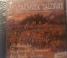 Historische Regiments-Märsche der k.u.k. Armee Folge 5 (1997)