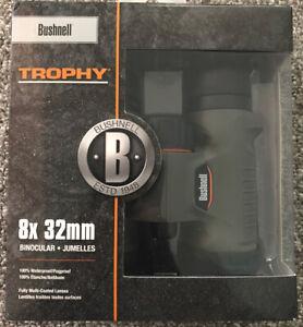 Bushnell 8x32 Trophy Binoculars - Roof Prism System and Focus Knob - Aus Stock
