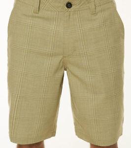 O'Neill Bristol Plaid Short (32) Khaki
