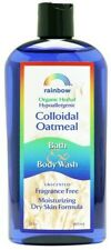 Rainbow Research Colloidal Oatmeal Body Wash Unscented Moisturize Dry Skin-12 Oz