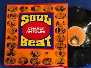 CHARLY ANTOLINI SOUL BEAT MPS ORIG FRANCE LP NEAR MINT
